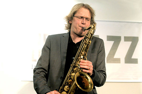 Paul Heller    Jazz     Saxofonist    Live-Konzert    WDR-Bigband     Next Level Jazz    Studio Dumont Köln    2014