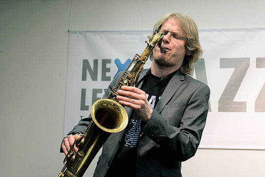 Paul Heller    Jazz     Saxofonist    Live-Konzert    WDR-Bigband     Next Level Jazz    Studio Dumont Köln    2015